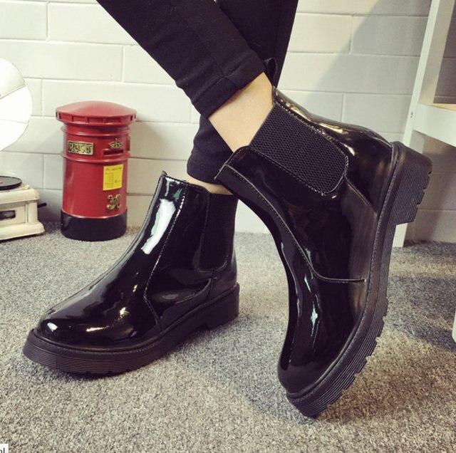 Flachen neue schuhedame stiefel Frauen absätzen Regen 2017 Mode eEHIYD2W9b