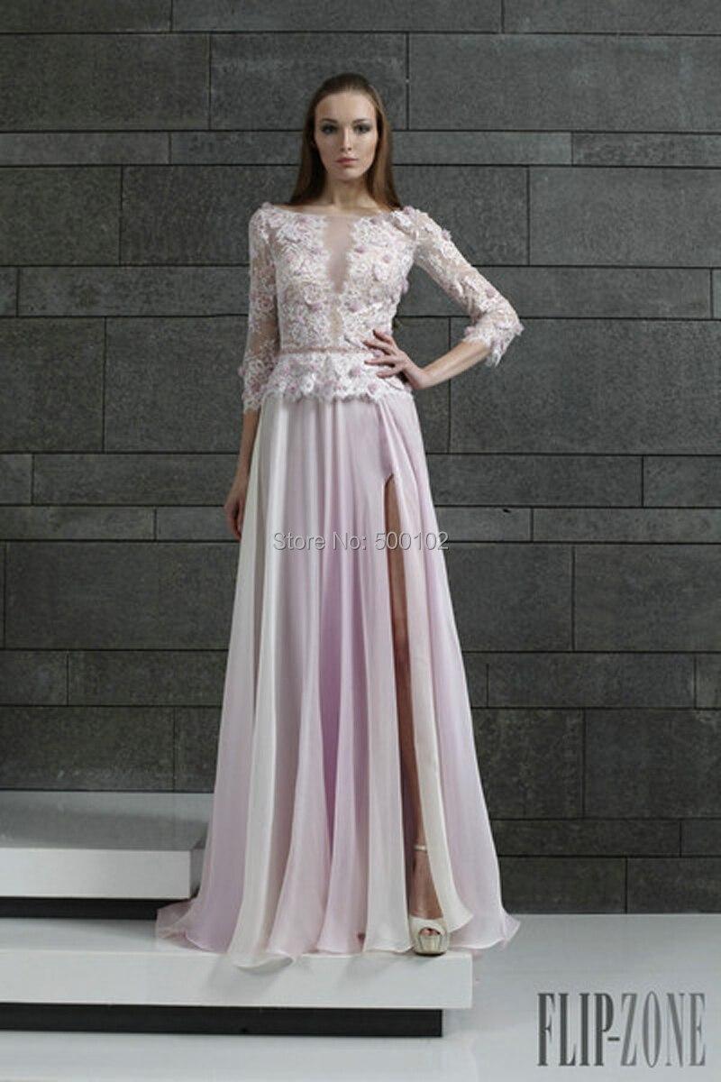 Online Buy Wholesale pale pink chiffon dress from China pale pink ...