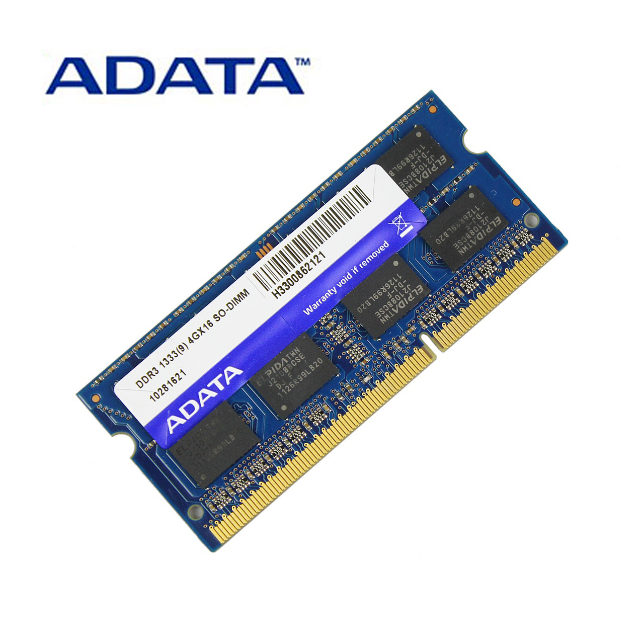 ADATA <font><b>DDR3</b></font> 1.5V 2GB <font><b>4GB</b></font> 8GB 1333MHz Ram Memory SO-DIMM 204 Pin PC3-10600 For Lenovo ThinkPad SONY Acer <font><b>SAMSUNG</b></font> HP Laptop RAMs image