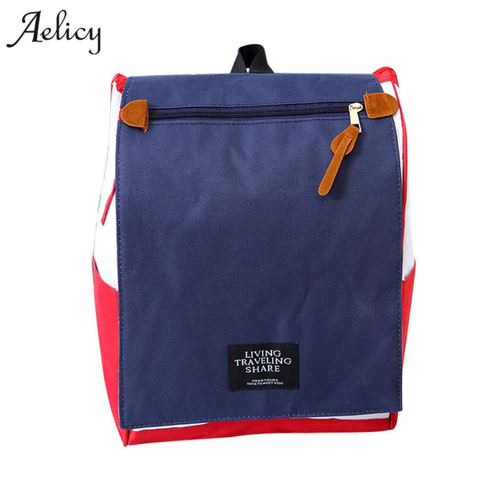 Aelicy Canvas Printing Backpack Women School Bag Teenage Girls Cute Bookbag Vintage Laptop Backpacks Female Backpack Schoolbag