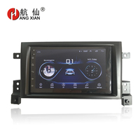 HANGXIAN 2 din Android 8.1 car radio stereo car stickers for SUZUKI Grand Vitara Nomade 2005 2011 car dvd player car accessaries