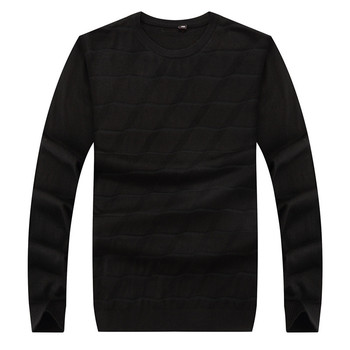 Plus size 8XL 6XL New Autumn Fashion Brand Casual Sweater O-Neck Slim Fit Knitting Mens Sweaters And Pullovers Men Pullover Men