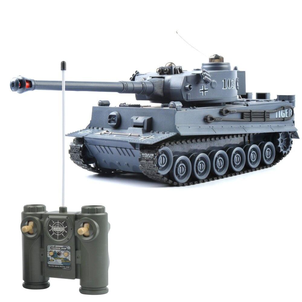 RC Tank Deutschland Tiger 103 Kampf Schlacht Tank Fernbedienung Spielzeug mit Musical und Blinkende spielzeug für kinder Weihnachten Geschenke