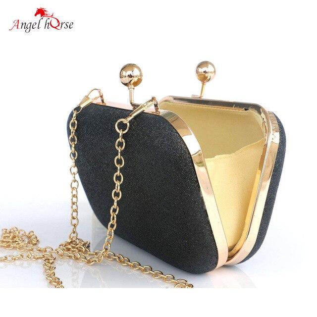 f8f6c7046cee Маленькие сумки для женщин Свадебная вечеринка вечерние сумки клатч Мини женские  сумки золотые черные сумки женские