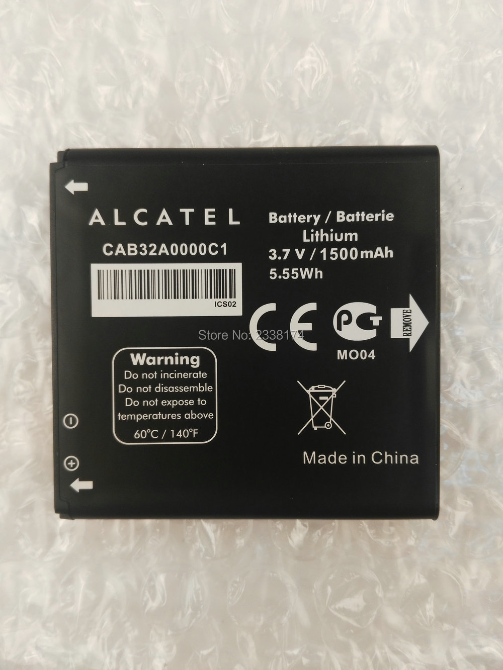 1pcs 100% High Quality CAB32A0000C1 1500mAh Battery For Alcatel One Touch 6010 OT6010 OT-6010 Phone Freeshipping + Tracking Code