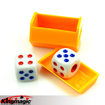Listening Dice Prediction Children Kids Magic Tricks Props Toys image