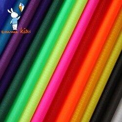 Ripstop Nylon tela para cometa 10 metros PU recubierto al aire libre repelente al agua bolsa de tela Banner hacer ropa tienda lona cubierta cosas saco