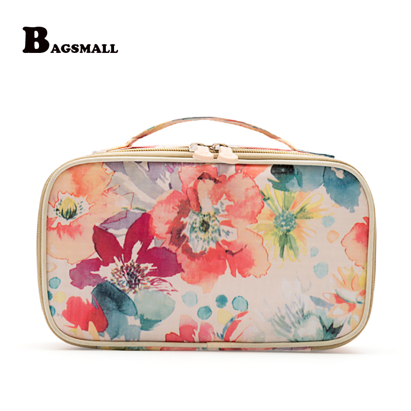 BAGSMALL Women's Bra Storage Bag  Travel Accessories Underwear Clothes Lingerie Organizers Cosmetic Makeup Pouch Suitcase Case