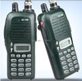 2PCS Green IC-V8 waterproof walkie talkie VHF 136-174MHz 5.5W 100 Channels DTMF Encoder Marine Two way Radio