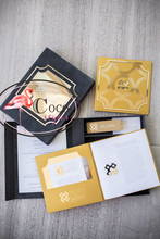 super creative mirror gold acrylic wedding invitation card box