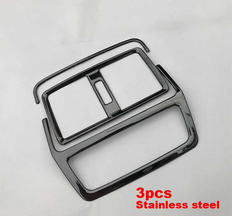 2 3pc for SKODA KODIAQ rear Air vent Decoration frame in Interior Mouldings from Automobiles Motorcycles