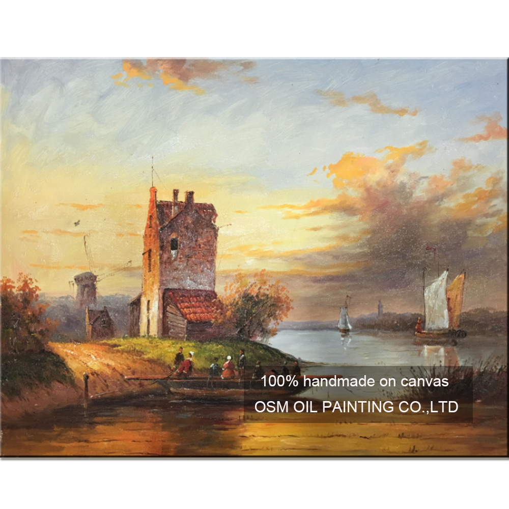 Online get cheap dutch oil painting for Oil paintings for the home