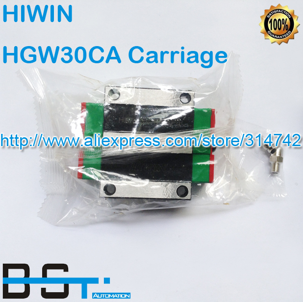 New Original HIWIN Linear rail carriage HGW30CA match with HGR30 Guideway