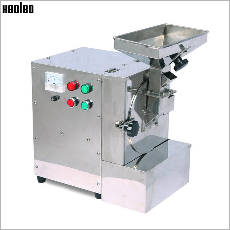 Xeoleo Almond Milling Machine for Grind Oily Feed Walnuts/Peanuts/Sesame/Bean/Spices Grease Grinding machine 1/2/2.5MM Miller david almond harry miller s run