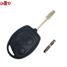 New HKOBDII 3 Buttons Top Quality 433MHZ Remote Emtru Key Fob with 4D60 chip For Ford Mondeo Fiesta Focus Ka Transit