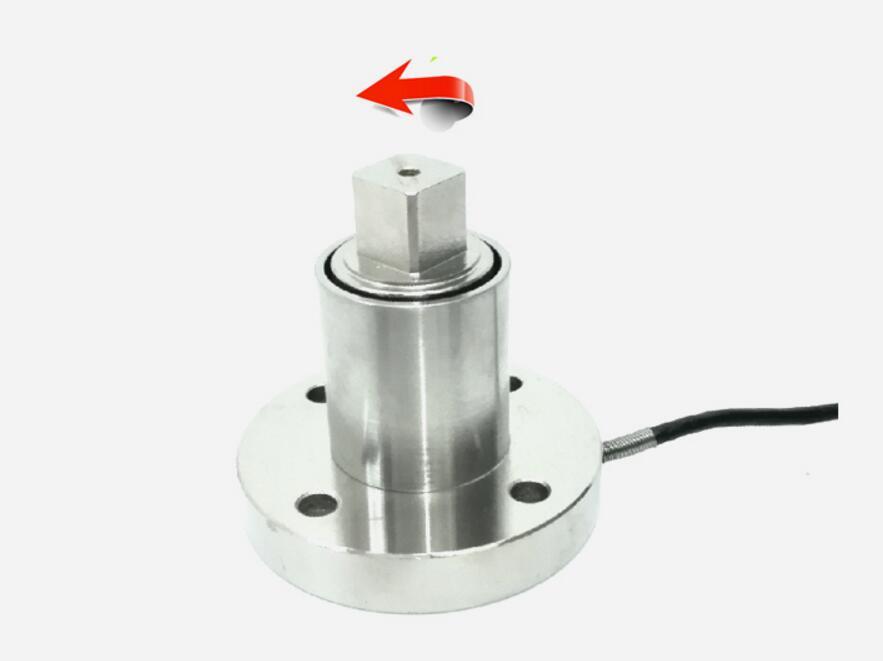 Anti-statica non-continua di coppia sensore di misurazione 0-500N.m 0-1000N.m scelte. Working in senso orario e in senso antiorario.