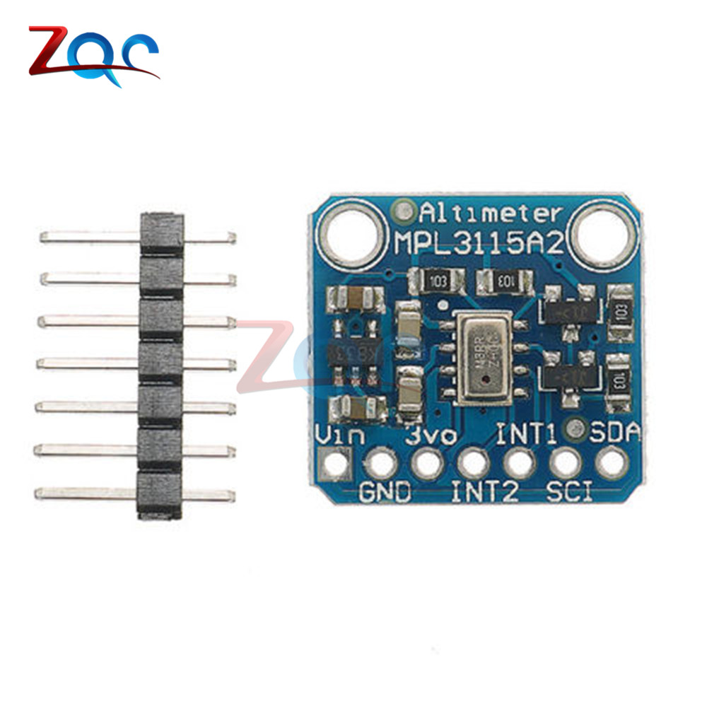 New MPL3115A2 I2C Intelligent Temperature Pressure Altitude Sensor V2.0 For Arduino