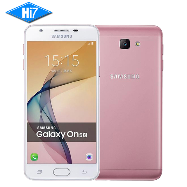 New Original Samsung Galaxy On5 G5520 / G5510 2016 Unlocked Mobile Phone Dual SIM 4G LTE 5.0'' 13MP Quad Core Android 1280x720
