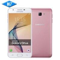 Nieuwe Originele Samsung Galaxy On5 G5520/G5510 2016 Unlocked Mobiele telefoon Dual SIM 4G LTE 5.0 ''13MP Quad Core Android 1280x720