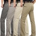 O Envio gratuito de 2016 a Primavera Eo Verão Nova Chegada Do Homem Casual Calças de Algodão Calças Moda Leve Retas dos homens de Roupas