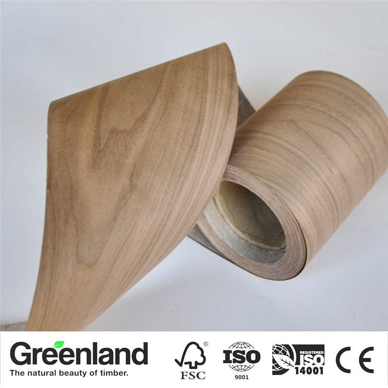 American Walnut(C.C) Wood Veneers Flooring DIY Furniture Natural Material Bedroom Chair Table Skin Size 250x20 Cm Table Veneer