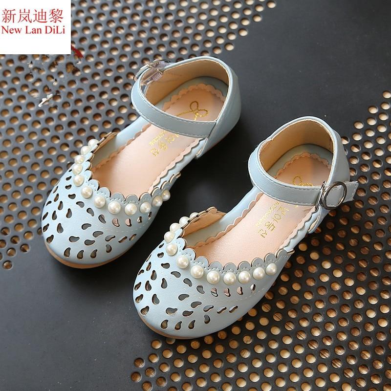 2018 New Lovely Flowers Baby Girls Sandals Summer Walker Shoes Soft Antislip Sole Kids Toddler Toe-cap Children's Sandals