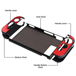 Image 3 - Aluminium Alloy Case For Nintend Switch Protective Hard Shell Case For Nintendo Switch Console Metal Cover Case For NS Joy Con