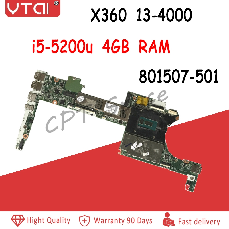 801507-501 For HP Spectre X360 Motherboard 4GB RAM i5-5200u DA0Y0DMBAF0 13-4000 Laptop Motherboard 100% tested intact801507-501 For HP Spectre X360 Motherboard 4GB RAM i5-5200u DA0Y0DMBAF0 13-4000 Laptop Motherboard 100% tested intact