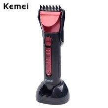 Высочайшее качество Тримера Kemei Водонепроницаемый Электрический Триммер Для Стрижки Волос Бритва Триммер для Бороды Нос Аккумуляторная Резки Стрижка RCS6042