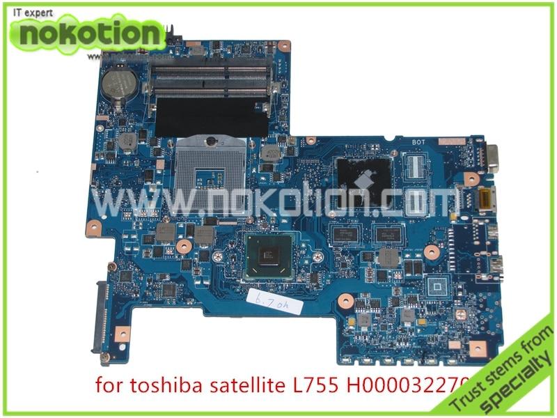 H000032270 laptop motherboard For toshiba Satellite L775 L775-S7105 REV 2.1 PN 08N1-0NA1J00 Intel HM65 DDR3 Mainboard