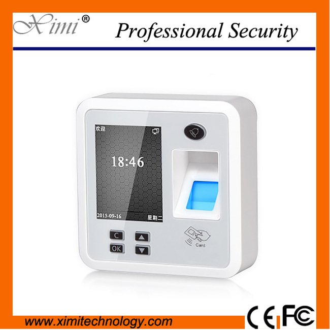 free shipping biometric fingerprint time clock TCP/IP fingerprint access control system XM28 with RFID and MF reader f807 biometric fingerprint access control fingerprint reader password tcp ip software door access control terminal with 12 month