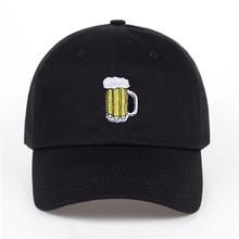 Túnica 2017 n casual sombreros cerveza hockey gorra de béisbol de algodón  hombres y mujeres de b41619d6cf5
