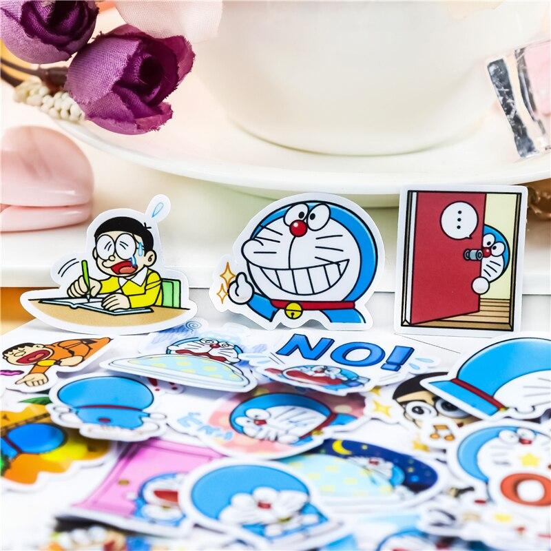 40pcs Creative kawaii self-made cute doraemon stickers/beautiful stickers /decorative sticker /DIY c