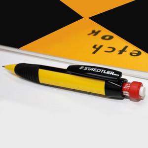 Image 5 - STAEDTLER 771 ołówek automatyczny rysunek ołówek automatyczny s szkoła papiernicze artykuły biurowe trójkąt ołówek pręt z gumką 1.3mm