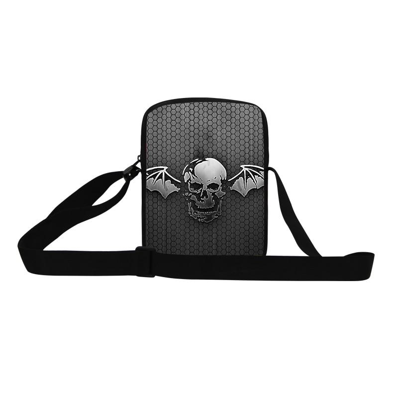 f2532ab2cf81 ⊹Dispalang мини-небольшой сумка 3D bat череп печати кросс Средства ...