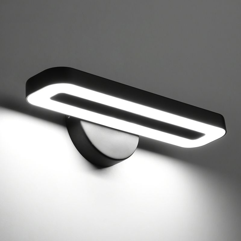 Simple modern LED wall lamp headlight living room TV background wall lamp office reading study aisle bedroom light modern led ceiling lamp aisle simple living room porch balcony study room long lamp