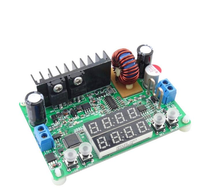 Hot sales DP30V5AL Step-down Programmable Power Supply Module regulator Practical Constant Voltage current LED display 16% off