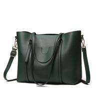 NEW Women Handbags High Quality PU Leather Large Capacity Women Tote Bag Famous Brand Bolsas Feminina