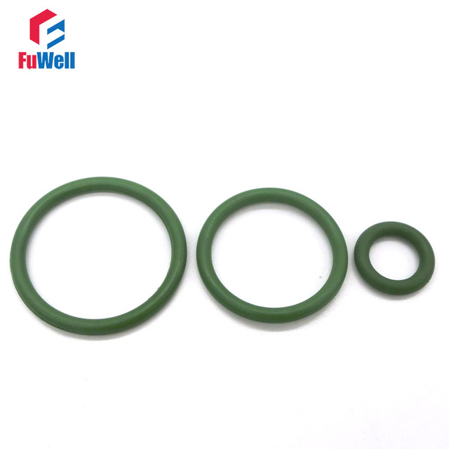 20pcs 2.5mm Thickness Green O Ring Seals Gasket 8/9/10/11/12/13/14 ...