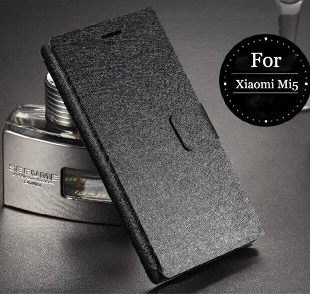 Originale macchina Reale Caso di Vibrazione del Cuoio di Lusso Per Xiaomi 5 Mi5 Mi 5 5.15 ''Casse Del Telefono Con Slot Per Schede di Trasporto libero