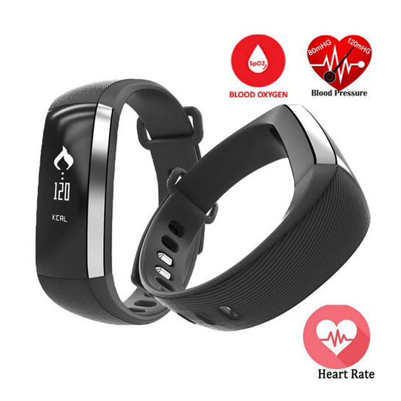 Zeblaze M2 Smart Wristband Heart Rate Blood Pressure Pulse Meter Bracelet Fitness Watch for iOS Android PK Fitbits ID107 PA343