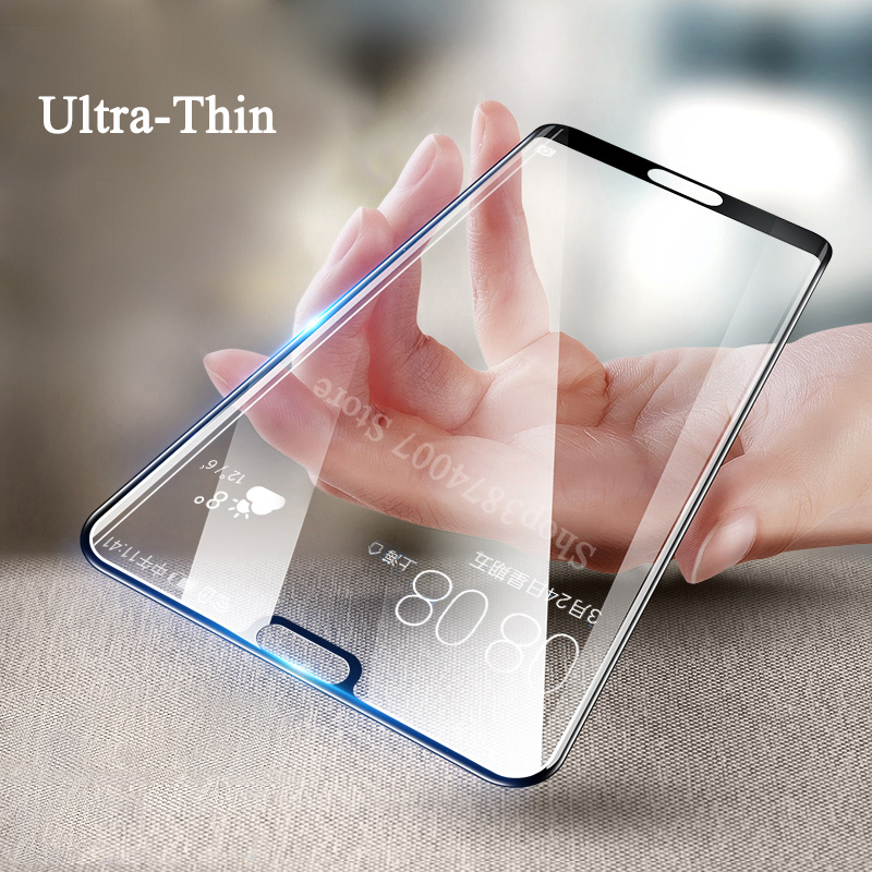5D protective glass on for huawei p20 p10 lite pro 20p 10p plus tempered glas screen protector p 20 10 light p20lite Armor Sheet