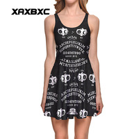 NEW 1276 Sexy Girl Women Summers Ouija Number And Letter Yes NO 3D Prints Reversible Sleeveless