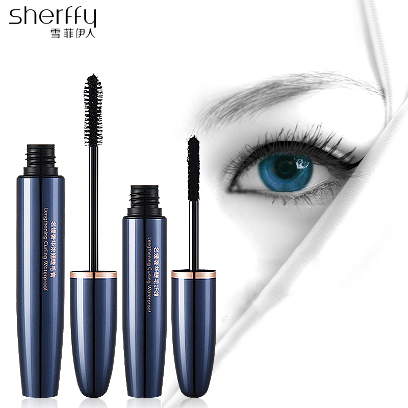 Sherffy 2pcslot Volume Express Mascara Waterproof Eyelashes 3d