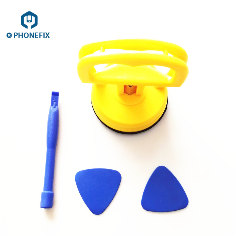 Computer Tool Kit Screen Repair Kit Opening Tools Pry Spudger Blade Heavy Duty Suction Cup For IPhone Repair Screen Opening Tool