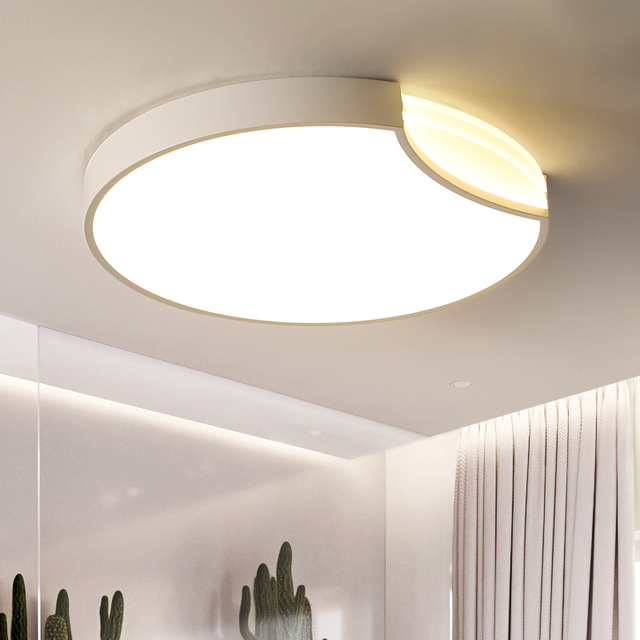 LED Ceiling lights bedroom Round lighting modern Acrylic luminaires Nordic living room ceiling lamps children's room fixtures