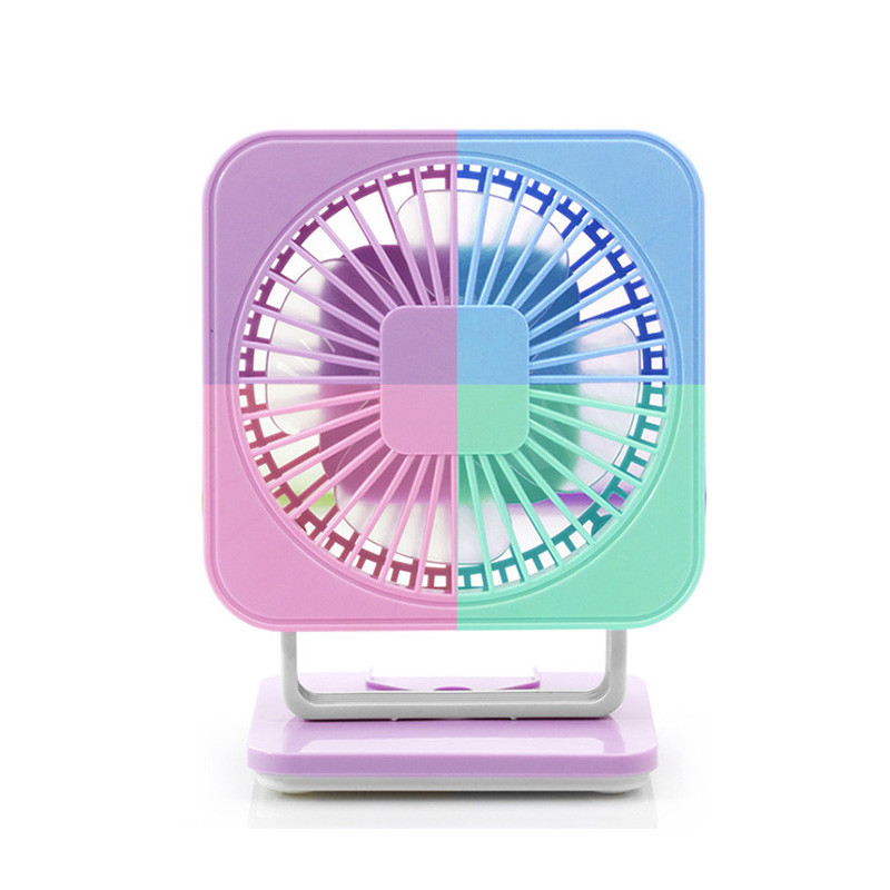 new usb rechargeable mini fan clip small fan portable small desk fan rotary vane use for home. Black Bedroom Furniture Sets. Home Design Ideas