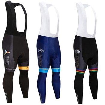 Pantalones largos acolchados para Ciclismo para hombre y mujer, mallas de Gel...