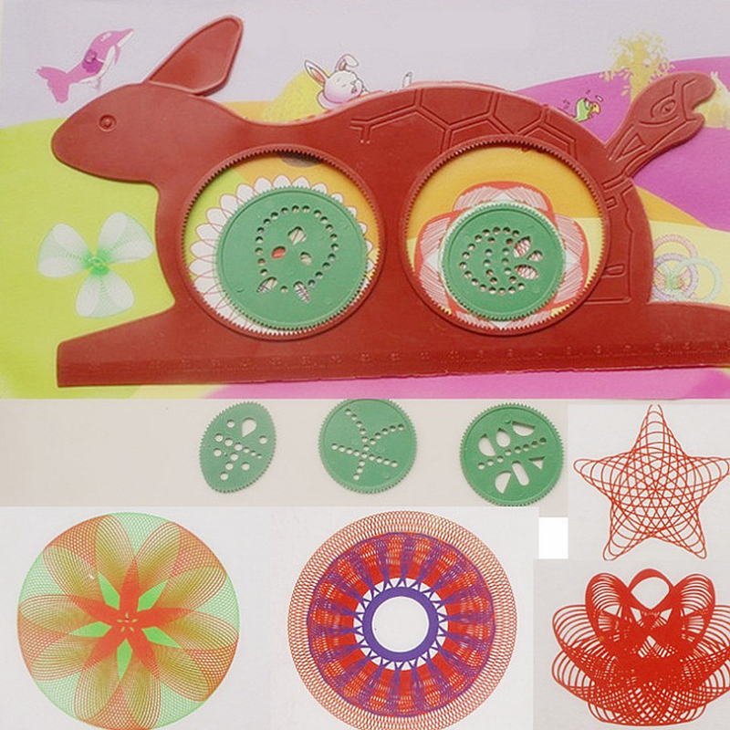 Волшебная черепаха кролик доска для рисования различные доски для рисования головоломка Wanhua многофункциональная живопись линейка детские...