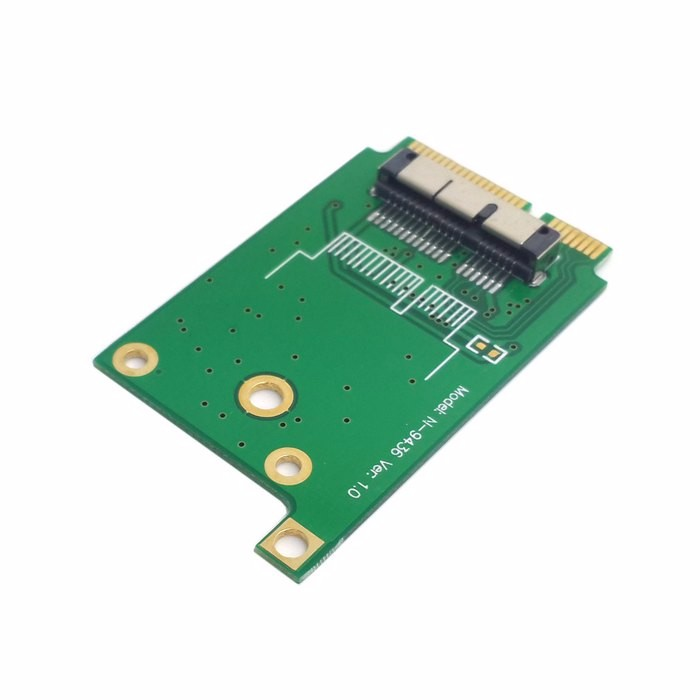 BCM94331CD BCM943224PCIEBT2 BCM94360CD BCM94331CSAX Ethernet WIFI Card to Mini pcie pci express PCI-E Laptop Adapter card